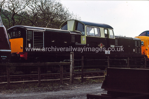 D8568 26/5/90 Grosmont Withdrawn 10/71 PONow Preserved / Private Owner as at 26/8/18