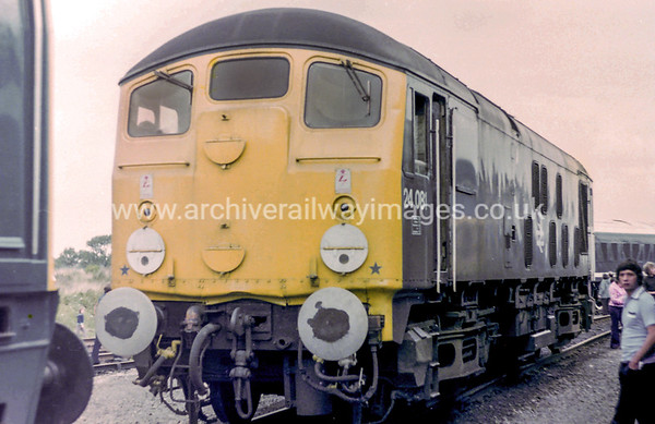 24081 19/8/79 Coalville Depot Withdrawn 10/80 CD	Now Preserved / Private Owner as at 4/12/17