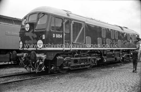 D5054 5/6/88 Coalville Depot Withdrawn 07/76 CD	Now Preserved / Private Owner as at 18/8/17