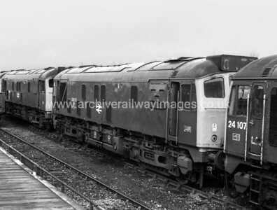 24115 10/4/77 Millerhill Withdrawn 12/76 HA	Cut-Up 06/77 Swindon Works