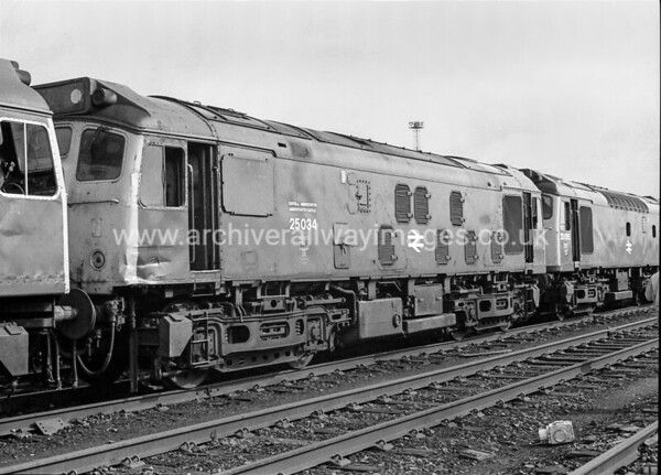 25034 Aberystwyth Castle 28/3/87 Crewe Withdrawn 12/86 CD Cut-Up 02/88 Vic Berry, Leicester