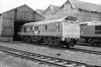 25006 7/9/80 Eastfield Withdrawn 12/80 HACut-Up 07/83 BREL Swindon Works