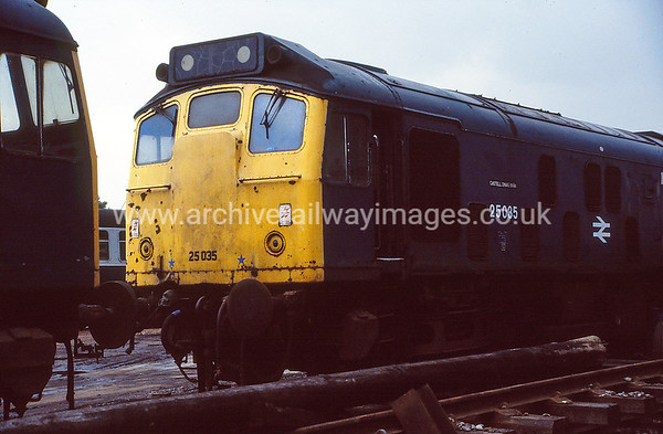 25035 4/6/88 Vic Berry, Leicester Withdrawn 03/87 CDNow Preserved / Private Owner as at 16/3/17