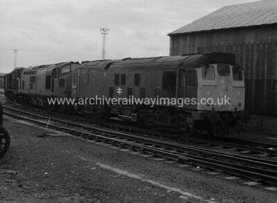 25007 9/4/77 Eastfield Depot Withdrawn 12/80 HACut-Up 09/82 Swindon Works