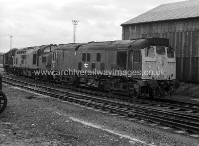 25007 9/4/77 Eastfield Depot Withdrawn 12/80 HA	Cut-Up 09/82 Swindon Works