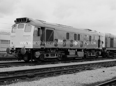 25046 4/8/84 Polmadie Depot Withdrawn 02/81 HACut-Up 07/87 Vic Berry, Leicester