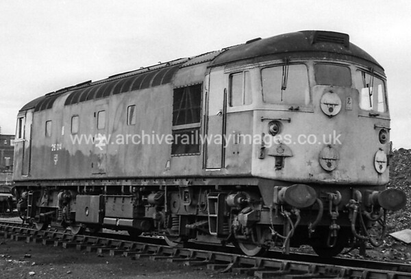 26014 26/6/77 Ayr Withdrawn 10/92 IS	Now Preserved / Private Owner as at 11/8/17