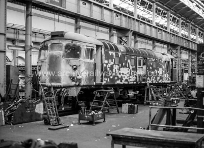 26025 25/5/86 Glasgow Works Withdrawn 10/93 IS    Now Preserved / Private Owner as at 11/8/17