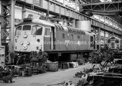 26030 25/5/86 Glasgow Works Withdrawn 03/85 IS   Cut-Up 03/87 by Vic Berry at Thornton Yard