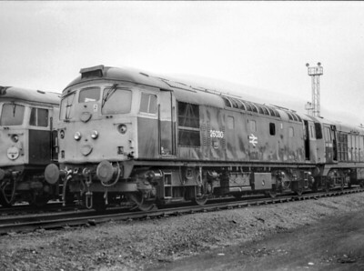 26030 4/8/84 Polmadie Depot Withdrawn 03/85 IS Cut-Up 03/87 by Vic Berry at Thornton Yard