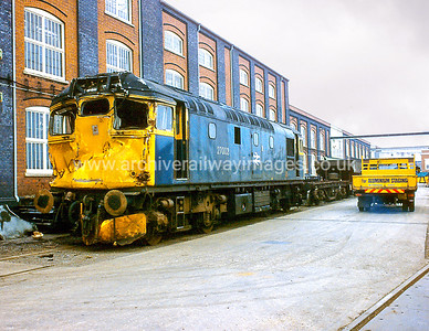 27002 1/6/84 Swindon Works   Withdrawn 01/86	Cut-Up 02/88 Vic Berry's Leicester
