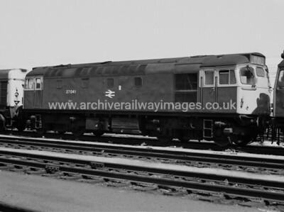27041 25/6/77 Polmadie Withdrawn 05/86 EDC:ut-Up 04/89 Vic Berry, Leicester