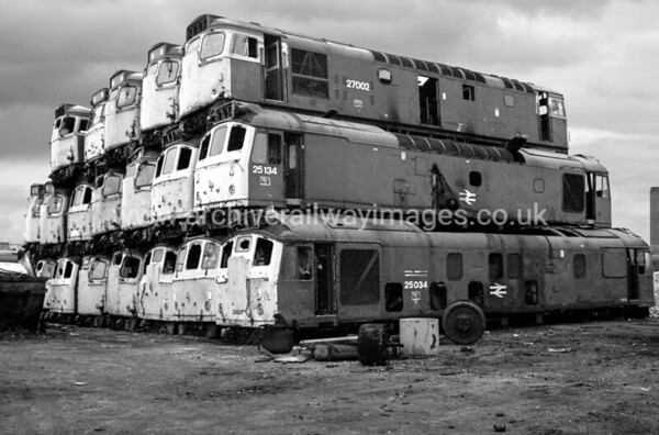27002 25134 25034 20/2/88 Vic Berry's, Leicester 27002   Withdrawn 01/86Cut-Up 02/88 V Berry's Leicester