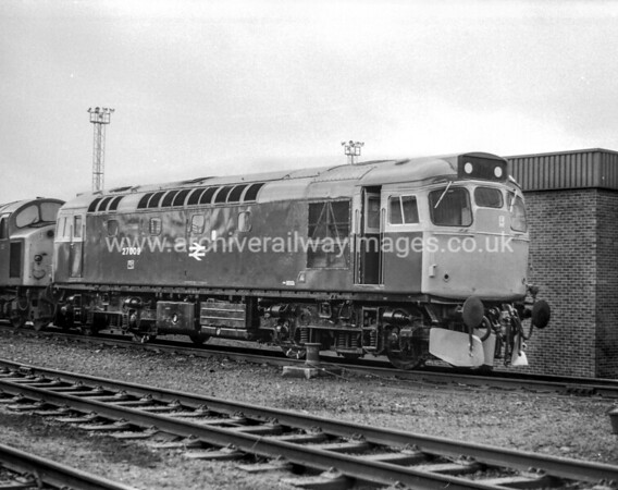 27009 11/9/77 Eastfield Depot Withdrawn 07/80 ED	Cut-Up 01/82 Glasgow Works
