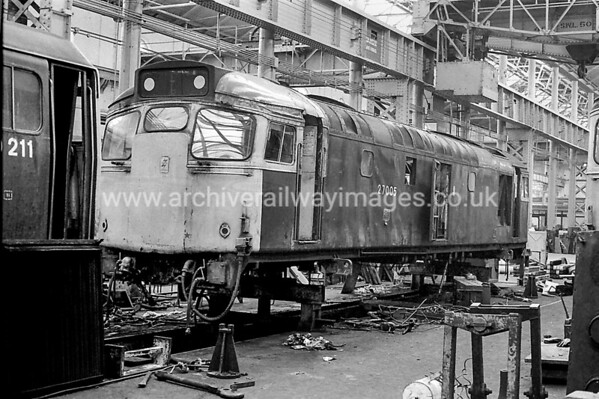 27005 21/8/83 Glasgow Works Withdrawn 07/87 ED	Now Preserved / Private Owner as at 23/5/17