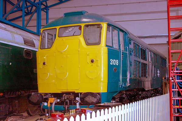31018 25/5/09 National Railway Musuem Withdrawn 07/76 SF Now Preserved / Private Owner as at 16/3/17