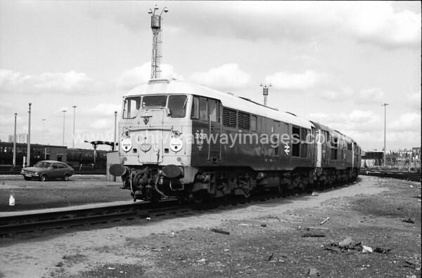 31019 24/9/80 Stratford Depot Withdrawn 10/80 SFC:ut-Up 08/81 Swindon Works