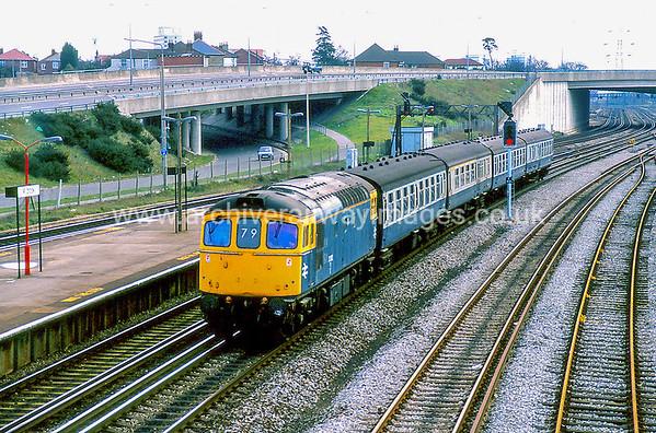 33012 18/2/88 Millbrook, ex.10.10 1V54 Portsmouth-Swansea Withdrawn 02/97 SLNowPreserved / Private Owner