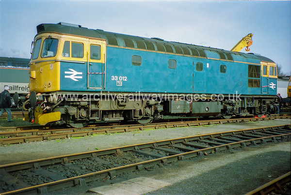 33012 19/3/94 Old Oak Common Withdrawn 02/97 SLNow Preserved / Private Owner