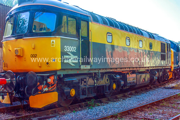 33002 Sea King 18/5/14 Buckfastleigh Withdrawn 09/96 SLNow Preserved / Private Owner