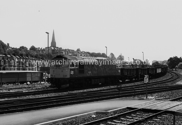 33015 1980's Exeter St. Davids Withdrawn 07/89 EH Cut-Up 11/90 V Berry Leicester