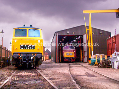 D7017 & D1010 Western Campaigner 14/8/04  Williton D7017 Withdrawn 03/75 OC   Now Preserved / Private Owner as at 29/9/17 D1010 D1010 Withdrawn 02/77 LANow Preserved / Private Owner