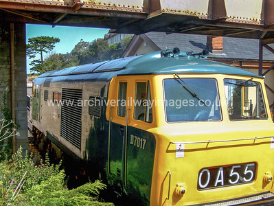 D7017 14/8/04 Watchet Withdrawn 03/75 OCNow Preserved / Private Owner as at 29/9/17
