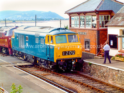 D7017 & D1010 Western Campaigner 14/8/04 Blue Anchor D7017 Withdrawn 03/75 OCNow Preserved / Private Owner as at 29/9/17 D1010 Withdrawn 02/77 LANow Preserved / Private Owneras at 19/5/1