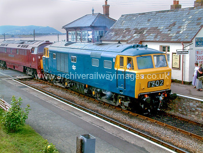 D7017 14/8/04 Blue Anchor Withdrawn 03/75 OCNow Preserved / Private Owner as at 29/9/17
