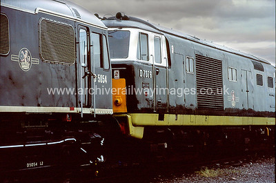 D7076 3/6/90 Coalville Depot Withdrawn 05/73 BRNow Preserved / Private Owner as at 19/5/17