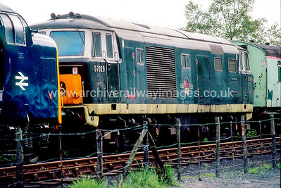 D7029 26/5/90 Grosmont Withdrawn 02/75 OCNow Preserved / Private Owner as at 19/5/17