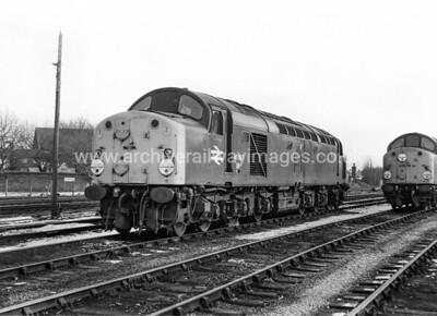 40007 12/2/78 Arpley Warrington Withdrawn 02/83 HMCut-Up 01/84 Doncaster Works