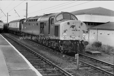 40095 16/7/81 Warrington Bank Quay Withdrawn 09/81 LO	Cut-Up 10/83 Swindon Works