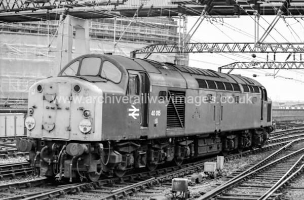40015 12/6/84 Manchester Piccadilly Withdrawn 11/84 LO	    C:ut-Up 11/86 Swindon Works