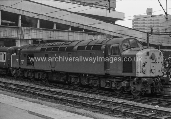 40034 12/3/3 Birmingham New St. Withdrawn 01/84 LO Cut-Up 03/84 Doncaster Works