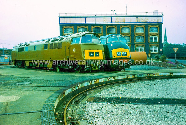 D818 Glory & D1015 Western Champion 1/6/84 Swindon Works D818 Withdrawn 11/72 NACut-Up 11/85 Swindon Works D1015 Withdrawn 12/76 LANow Preserved / Private Owner as at 13/10/17