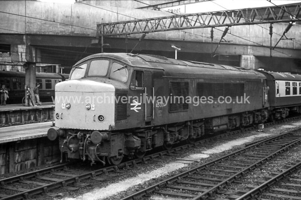 45001 3/7/82 Birmingham New St. Withdrawn 01/86 TO	Cut-Up 11/88 MC Metals Glasgow