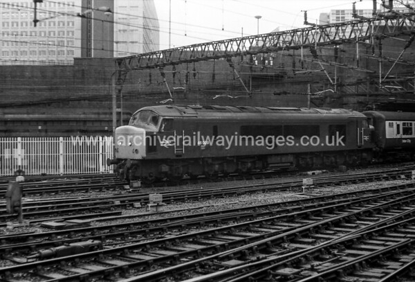 46009 5/12/81 Birmingham New St. Withdrawn 10/83 GDCut-Up 07/84 By Vic Berry at Old Dalby, after being desytroyed in nuclear flask crash test.