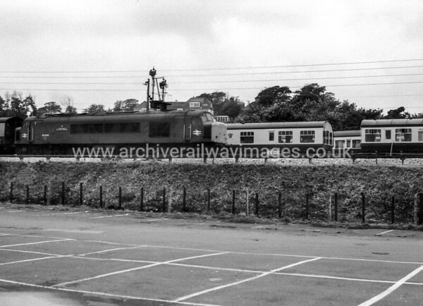 46026 Leicestershire & Derbyshire Yeomanry 8/8/81 Dawlish Warren Withdrawn 11/84 GDCut-Up 03/85 Doncaster Works