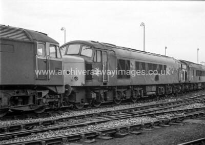 46051 7/2/82 Saltley Withdrawn 12/83 GDCut-Up 04/84 Swindon Works