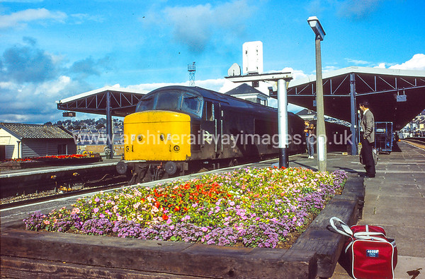 46011 29/9/84 Plymouth Withdrawn 11/84 GDCut-Up 01/86 Swindon Works