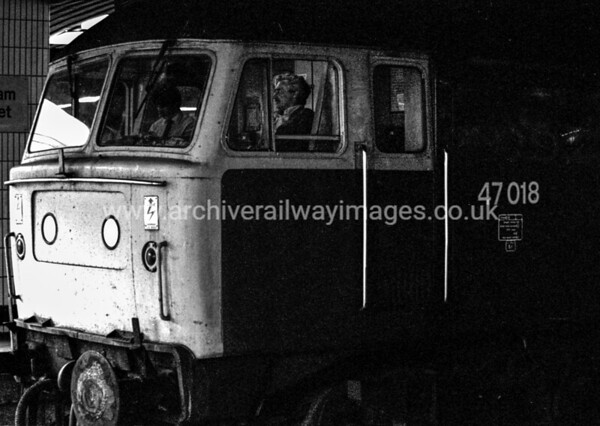 47018 9/9/83 Birmingham New Street Withdrawn 07/91 TI   	Cut-Up 03/94 Coopers Metals Attercliffe