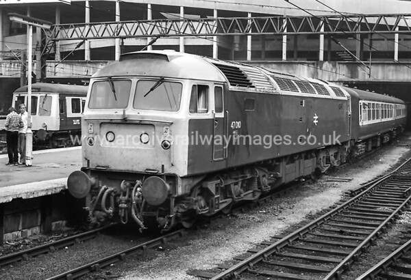 47010 80's Birmingham New St. Withdrawn 12/92 IM Cut-Up 12/93 CF Booth Rotherham