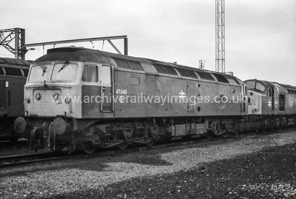 47040 17/12/83 Speke Jct. Withdrawn 04/04 Cut-Up 07/04 By HNRC at Toton Depot