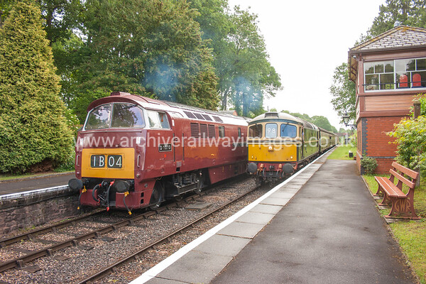 D1010 Western Campaigner & D675 (33057) 9/6/17 Crowcombe Heathfield D1010 Withdrawn 02/77 LA Now Preserved / Private Owner as at 29/8/17 D6575 Withdrawn 05/96 SL EWDB Now Preserved / Private Owner as at 29/8/17
