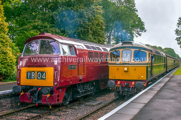 D1010 Western Campaigner & D6575 9/6/17 Crowcombe Heathfield D1010 Withdrawn 02/77 LANow Preserved / Private Owner as at 29/8/17 D6575 Withdrawn 05/96 SL EWDBNow Preserved / Private Owner as at 29/8/17