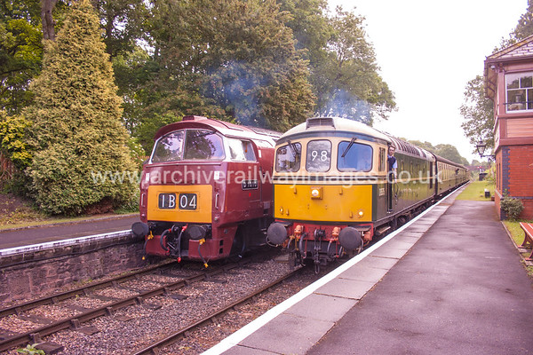 D1010 Western Campaigner & D675 (33057) 9/6/17 Crowcombe Heathfield D1010 Withdrawn 02/77 LANow Preserved / Private Owner as at 29/8/17 D6575 Withdrawn 05/96 SL EWDBNow Preserved / Private Owner as at 29/8/17