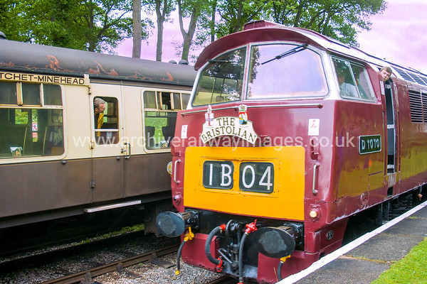 D1010 Western Campaigner 9/6/17Crowcombe Heathfield Withdrawn 02/77 LANow Preserved / Private Owner as at 29/8/17