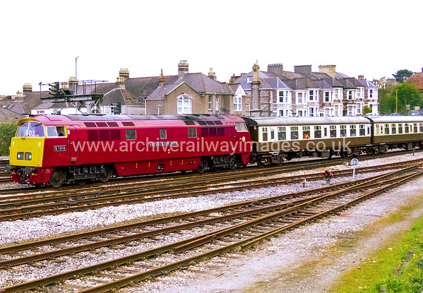 D1010 Western Campaigner 7/5/16 Plymouth Withdrawn 02/77 LANow Preserved / Private Owner as at 29/8/17