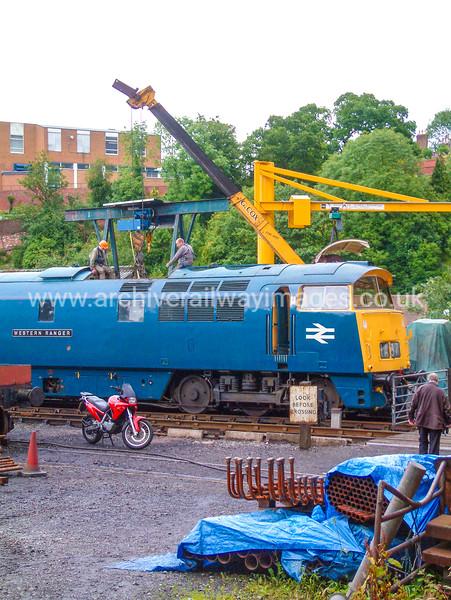 D1013 Western Ranger 10/7/04 Bridgnorth